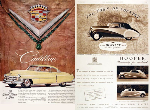 Old Cars Advertising